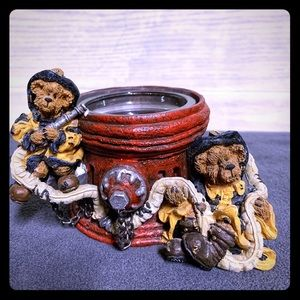 Boyd's Bears tea light holder * Marshall & Bill...